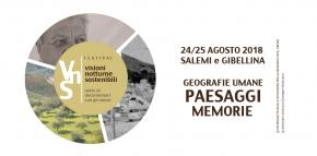 Festival Visioni Notturne Sostenibili 24 e 25 agosto 2018 - Salemi/Gibellina