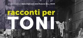 (Italiano) Racconti per TONI - 13 marzo 2014