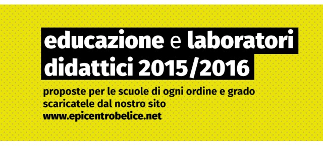 Educazione e laboratori didattici 2015/2016